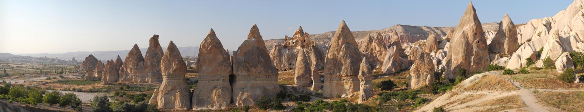 Fairy Cimneys in Cappadocia, Turkey