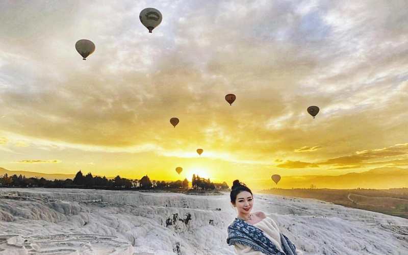 Pamukkale - Hot Air Balloon