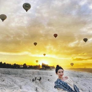 Pamukkale- Hot Air Balloon